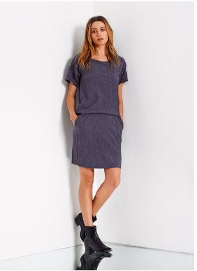 Customade-Jamie dress charcoal | gnomecoffeemerchants