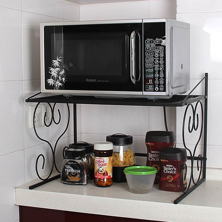 1000 ideas about microwave stand on pinterest microwave. Black Bedroom Furniture Sets. Home Design Ideas