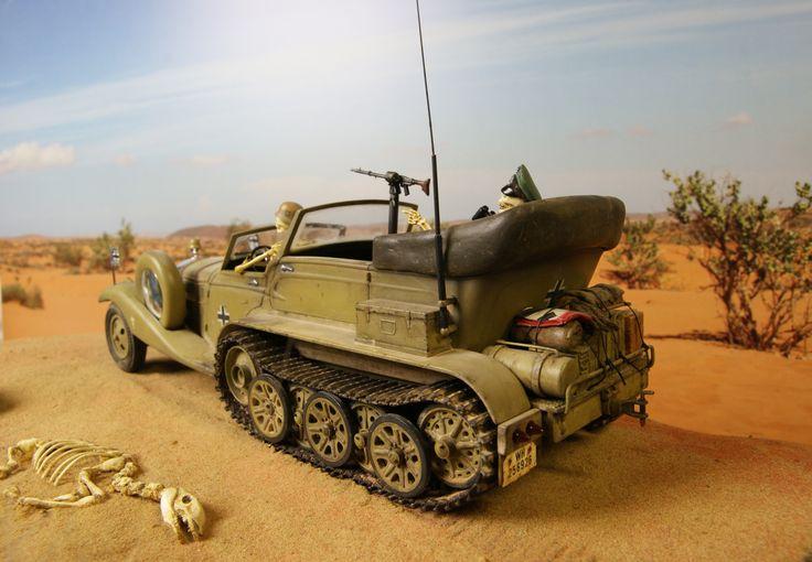 Rommels rod, en gammal Tom Daniel byggsats som jag har modifierat.