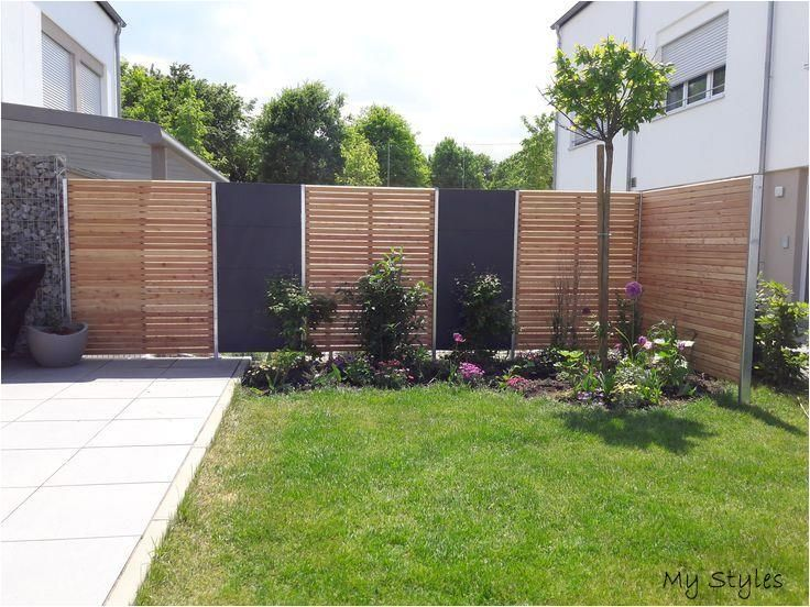 Pin Von Birgit Weiss Auf Zaun In 2020 Moderne Landschaftsgestaltung Sichtschutzzaun Garten Gartengestaltung