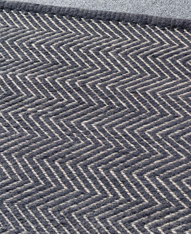 Herringbone Weave Wool Carpet Vidalondon