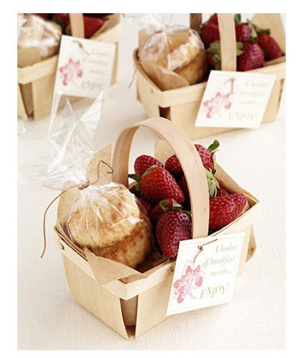 Creative Real Wedding Party Favors Make the ride home extra sweet with an unforgettable takeaway.