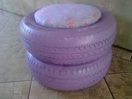 Resultado de imagem para pintura em pneus artesanato
