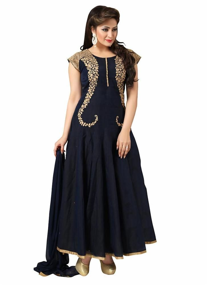 Designer Anarkali Indian Ethnic Salwar Bollywood Pakistani Kameez Party Wedding  #KriyaCreation