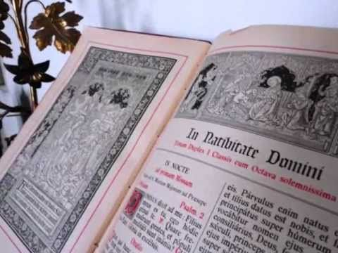 Las Antífonas O cantadas desde el 17 de diciembre.