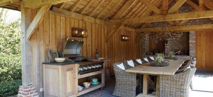 683 oak outdoor kitchen 960 440. Black Bedroom Furniture Sets. Home Design Ideas