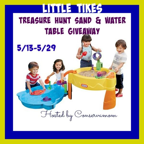 Little Tikes Treasure Hunt Sand & Water Table Giveaway - ends 5/29/15