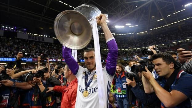 Gareth Bale is the sixth player to win the Champions League or European Cup in his home city
