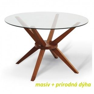 Jídelní stůl, třešeň, GLAS