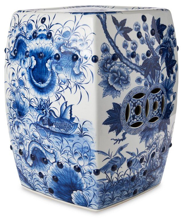 372 Best Ceramic Garden Stools Images On Pinterest Benches Blue And White And Ceramic Garden