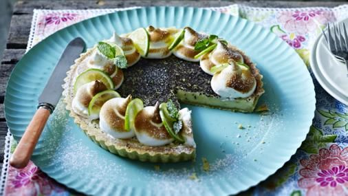 Ryan's take on key lime pie received great praise on The Great British Bake Off. Try it for yourself.