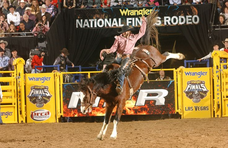 National Finals Rodeo in-Las Vegas, NV