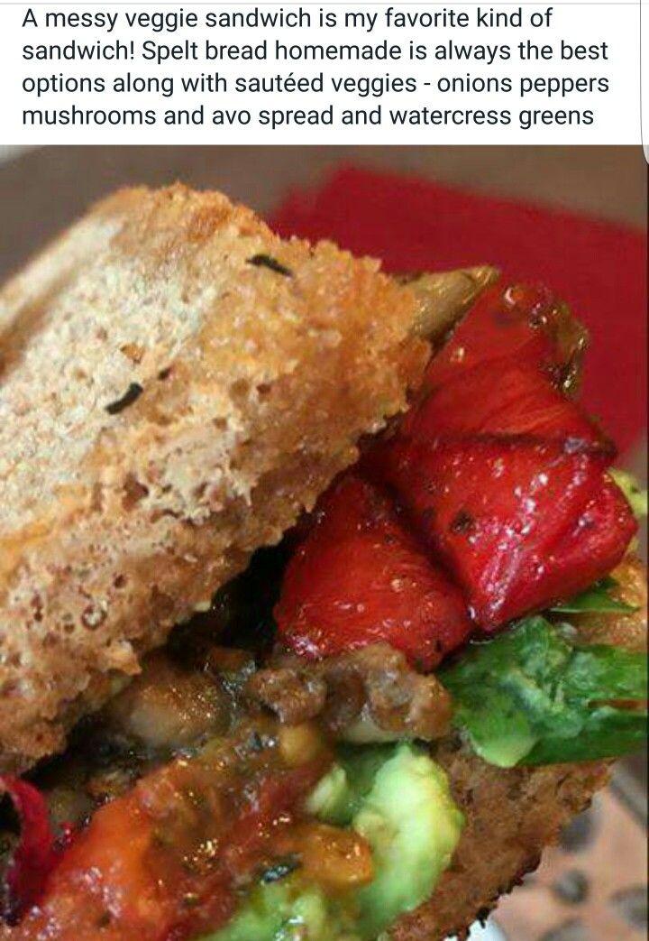 Alkaline Vegan sandwich with Dr Sebi approved ingredients