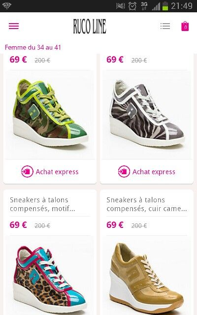 RUCO LINE chaussure
