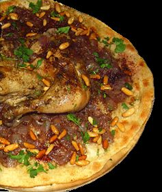 Recipes from Nablus-musakhan. Lots of recipes on this site.