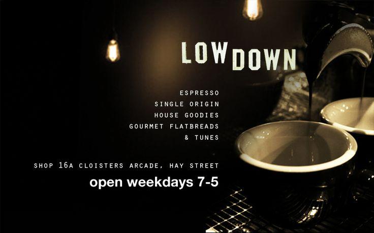 Lowdown Espresso Bar - Perth, Western Australia