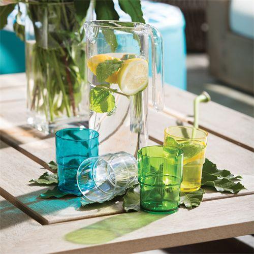 acrylic jug set