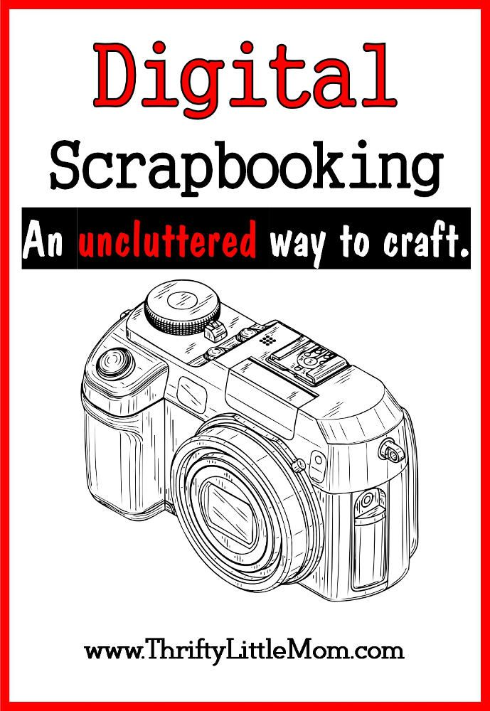 Digital Scrapbooking is an easy uncluttered way to create your very own unique (reproducible) scrapbooks.