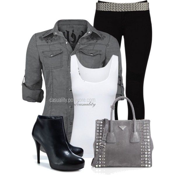 """""""She's Edgy"""" by casuality on Polyvore"""