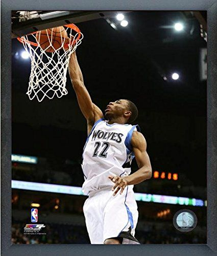 Andrew Wiggins Minnesota Timberwolves 201415 NBA Action Photo Size 12 x 15 Framed -- See this great product.