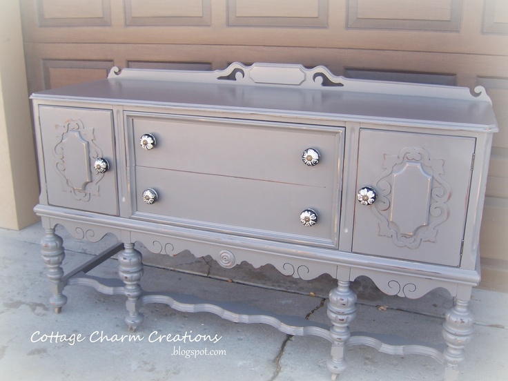 Cottage Charm Creations: Stunning Vintage Sideboard