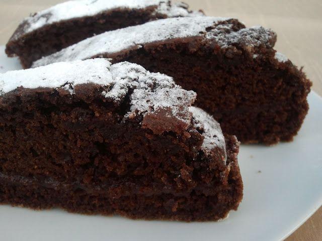 domowa cukierenka: ciasto czekoladowe bez jajek