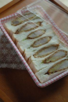 「ヘルシー♪オーブン焼きカツサンド」うさ子 | お菓子・パンのレシピや作り方【corecle*コレクル】