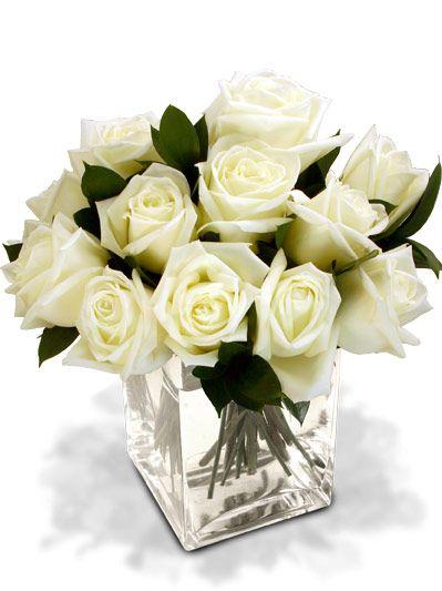 white rose wedding centerpieces - Google Search