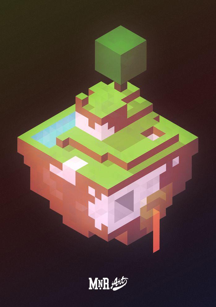 mnrart:  A whole new world by mnrART