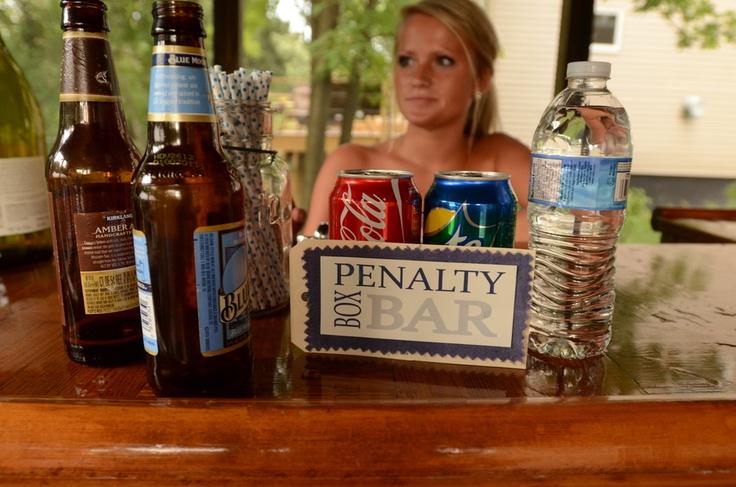 Penalty Box bar Hockey Wedding