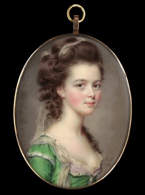 portrait miniature--I would love to collect things like these.