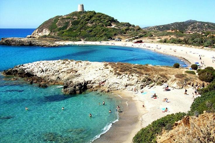 Chia Sardinia Italy