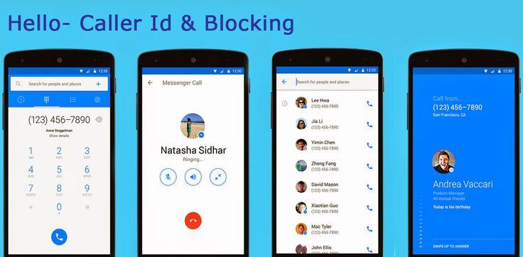 Block Caller ID with Hello app - #moontechnolabs