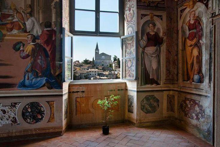 Todi, vista sulla Basilica di San Fortunato #mccurry #sensationalumbria