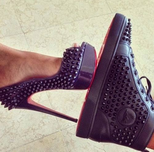 Christian Louboutin matching pair, his and hers!