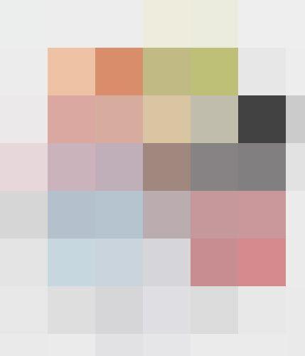 Million of pixels by Bouchra EL GHOUL, via Behance