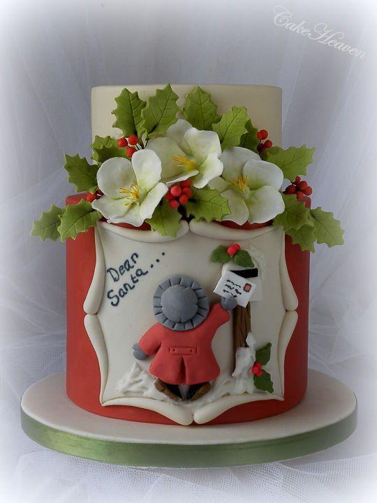 'Dear Santa …….' Christmas Cake  CakeHeaven by Marlene