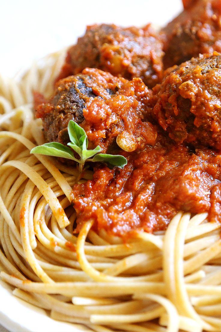 Lentil Meatballs Portabella Mushroom Walnuts  do not use the sun dried tomatoes in oil