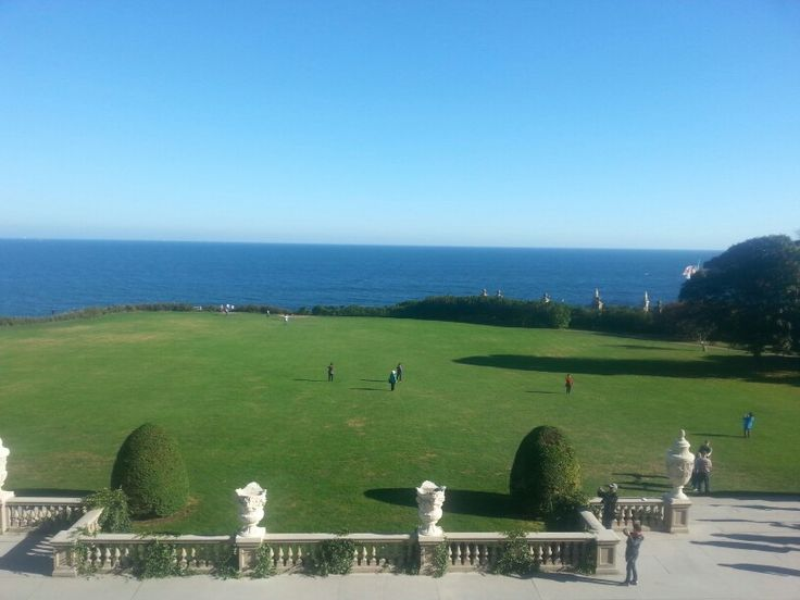 Newport mansions balcony overlooking ocean places i for Balcony overlooking ocean