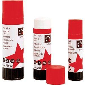 Lápiz adhesivo ECONOMICO de 20 grs. - El Compas Online Barra de adhesivo sólido de fácil aplicación. No es tóxico ni contienen disolvente. Barrita de 20 gramos.