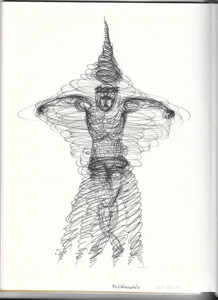 © Benke Rita, 2004 Papír, tusrajz - 21x30 cm Ára: 12.000 Ft