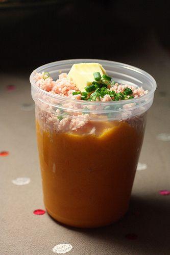 Polenta aux carottes (dès 9 mois) bebe sale