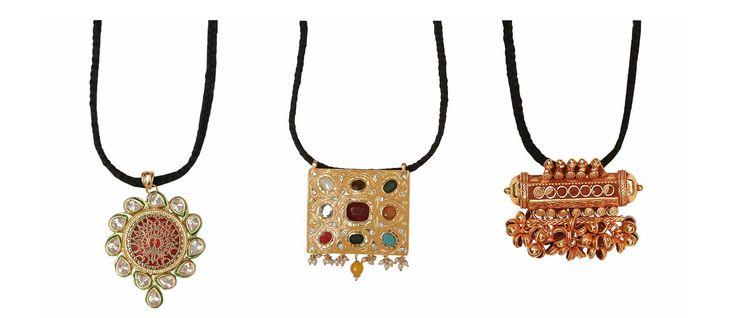 #Zoyashi's #Brass & #Silver #Jewellery #pendants #Necklaces #RockThisLookWithZoyashi #EthnicJewellery #LoveForEthnic