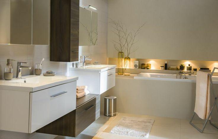 Meubles cooke lewis nida castorama salle de bain pinterest salle de bain deco et salle - Meubles salle de bain castorama ...