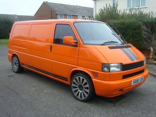 Volkswagen T4 Orange Van