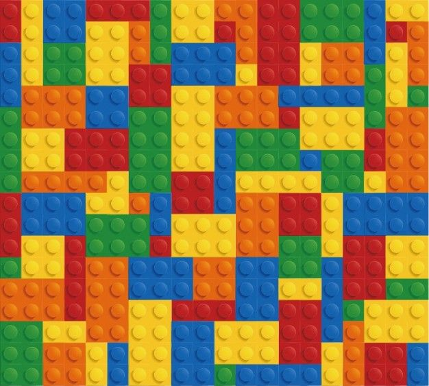Lego bricks wall colorful background: Backgorund Vector, Pattern, Lego ...