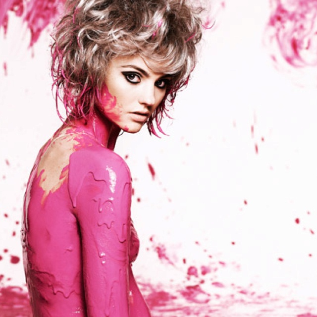 Australia's next top model, makeup by Natalie Urban.