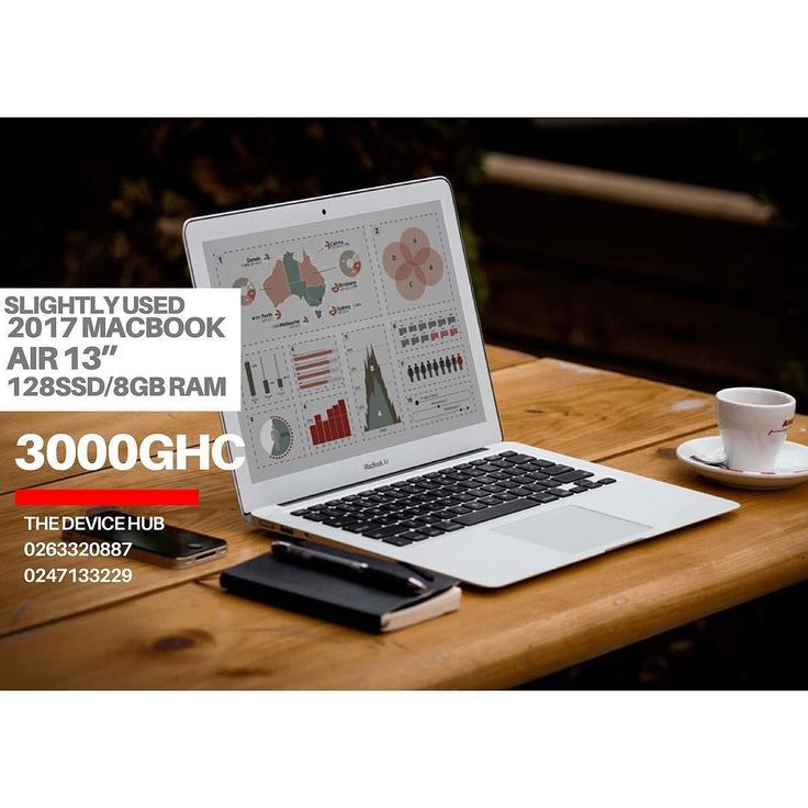 SLIGHTLY USED  2017 MACBOOK AIR 13 INCHES 128SSD 8GB RAM PRICE:3000GHC  TO ORDER  CALL: 0263320887/0230357751 WHATSAPP: 0263320887 always demand an e-receipt after purchase  WE DELIVER NATIONWIDE #Kumasi #Accra #Ho #Sunyani #CapeCoast #Takoradi #Tamale #koforidua #Wa  #Bolgatanga #Tarkwa