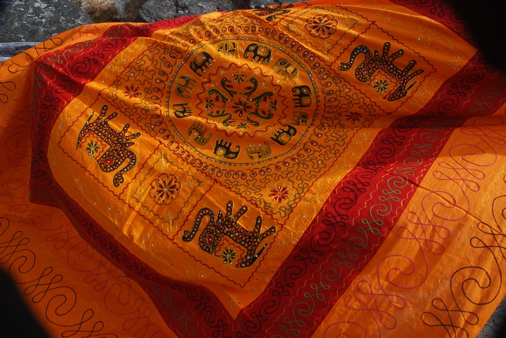 Indian Decorative Cotton Sheet is available at  www.htfcreations.com