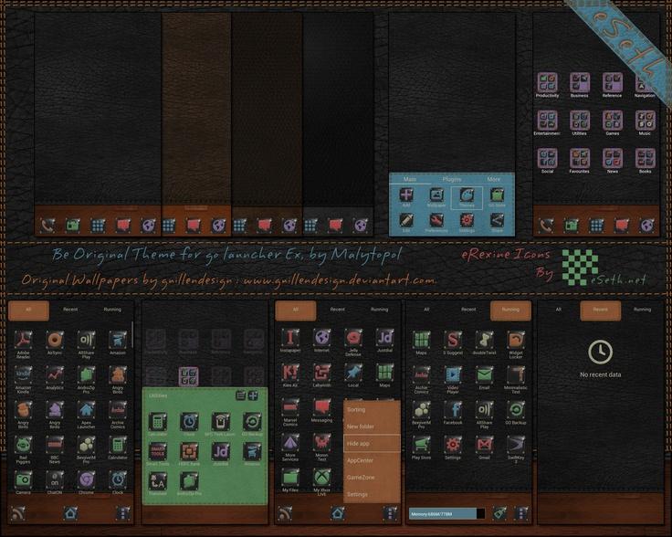 Blackboard go launcher theme APK 1.2 - Free ...